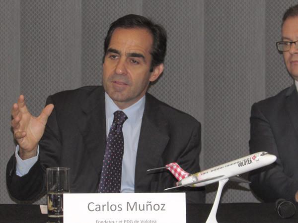 Carlos Munoz, fondateur Pdg de Volotea.