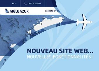 Aigle Azur modernise son site web