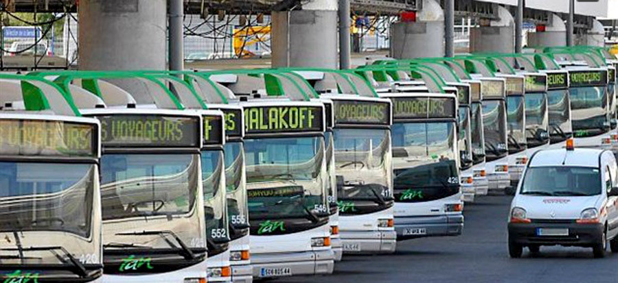 bus a Nantes