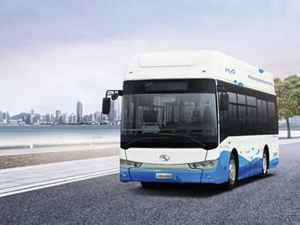 King Long présente son bus à hydrogène