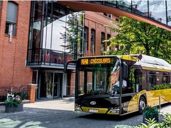 Madrid choisit CAF-Solaris pour ses bus au GNC