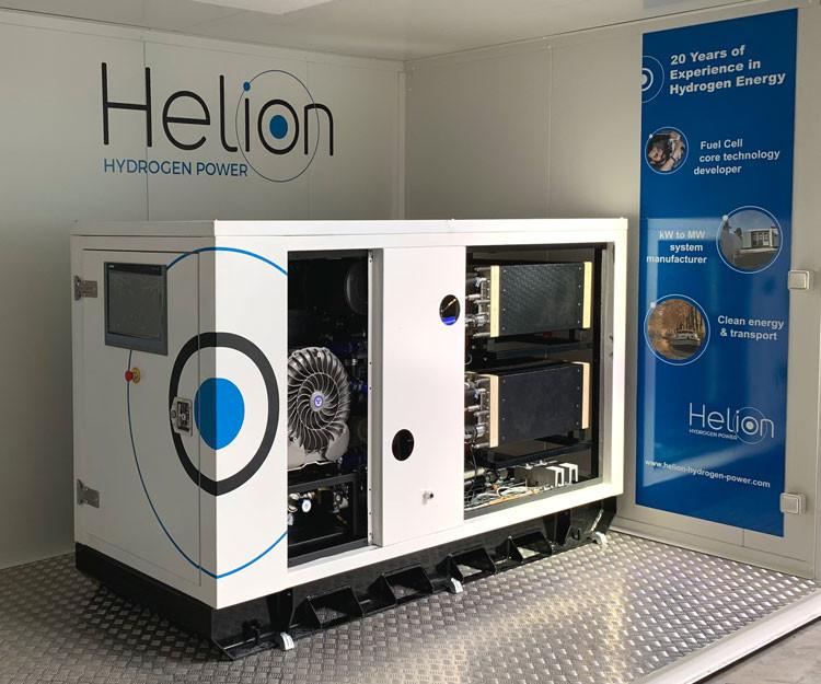 pile à combustible Helion Hydrogen Power