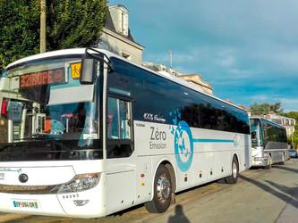 Nouvelle Aquitaine : des cars électriques sur la ligne 704