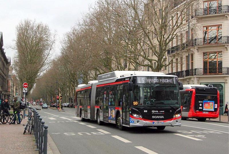 Scania Citywide GNV à Lille