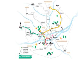 Nantes veut créer trois nouvelles lignes de tram