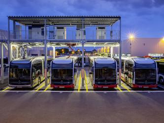Daimler Buses développe sa propre station électrique