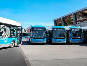 Trente nouveaux eBus BYD pour Madrid