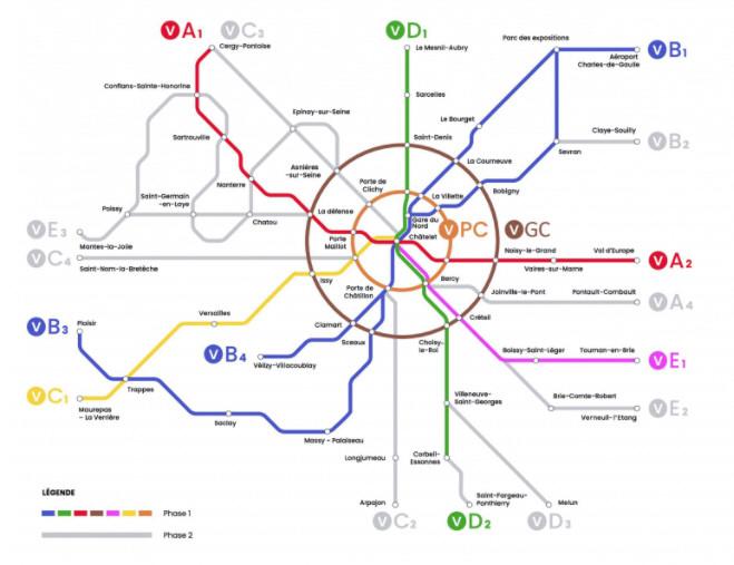plan RER Vélo