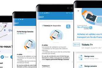 L'Assistant SNCF propose l'achat des forfaits Navigo et tickets T+