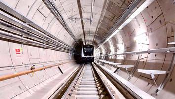 Premiers essais de circulation de Crossrail sous Londres