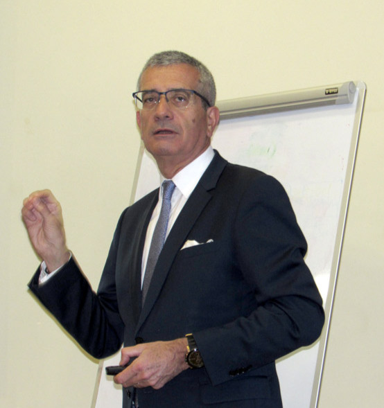 Dominique Giraudier, directeur général de l'Institut Paul Bocuse