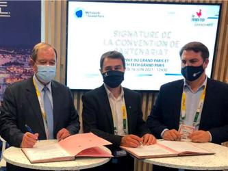 Le Grand Paris et la French Tech Grand Paris se rapprochent