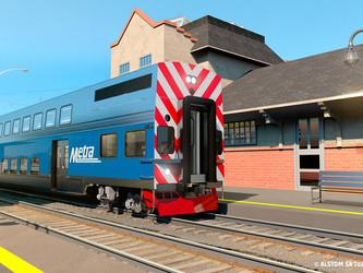 Alstom fournira 200 voitures à la société Metra de Chicago