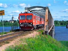 Retour des trains de voyageurs entre la Suède et la Finlande