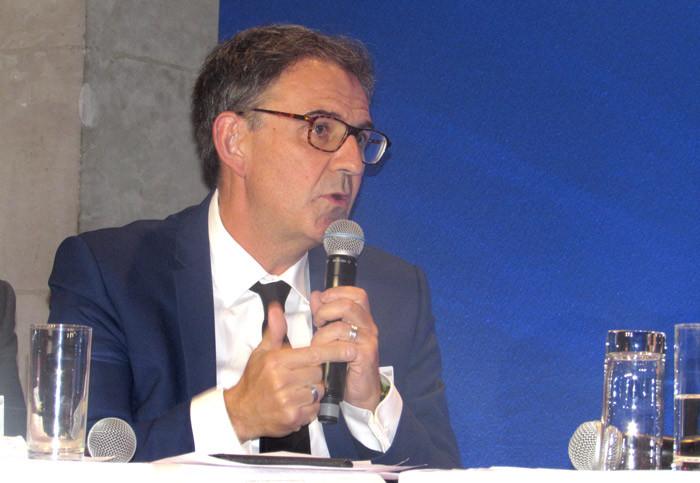 David Kimelfeld, président de la Métropole de Lyon
