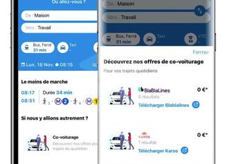 L'Assistant SNCF intègre BlaBlaLines et Karos