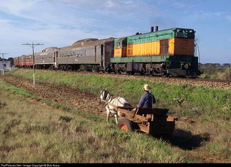 Les trains cubains