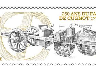 La Poste célèbre la première automobile de l'histoire
