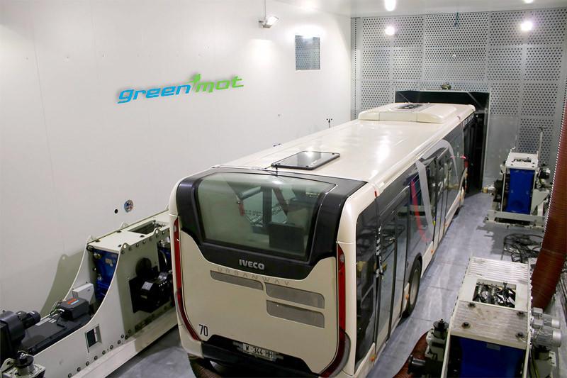 Projet Green-eBus développé par GREENMOT