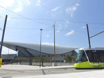 La ligne 3 du tramway de Saint-Etienne en essais