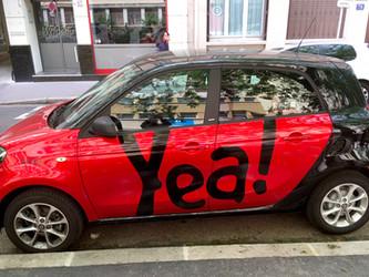 Lyon et Villeurbanne lancent un Appel à Manifestation d'Intérêt pour l'autopartage