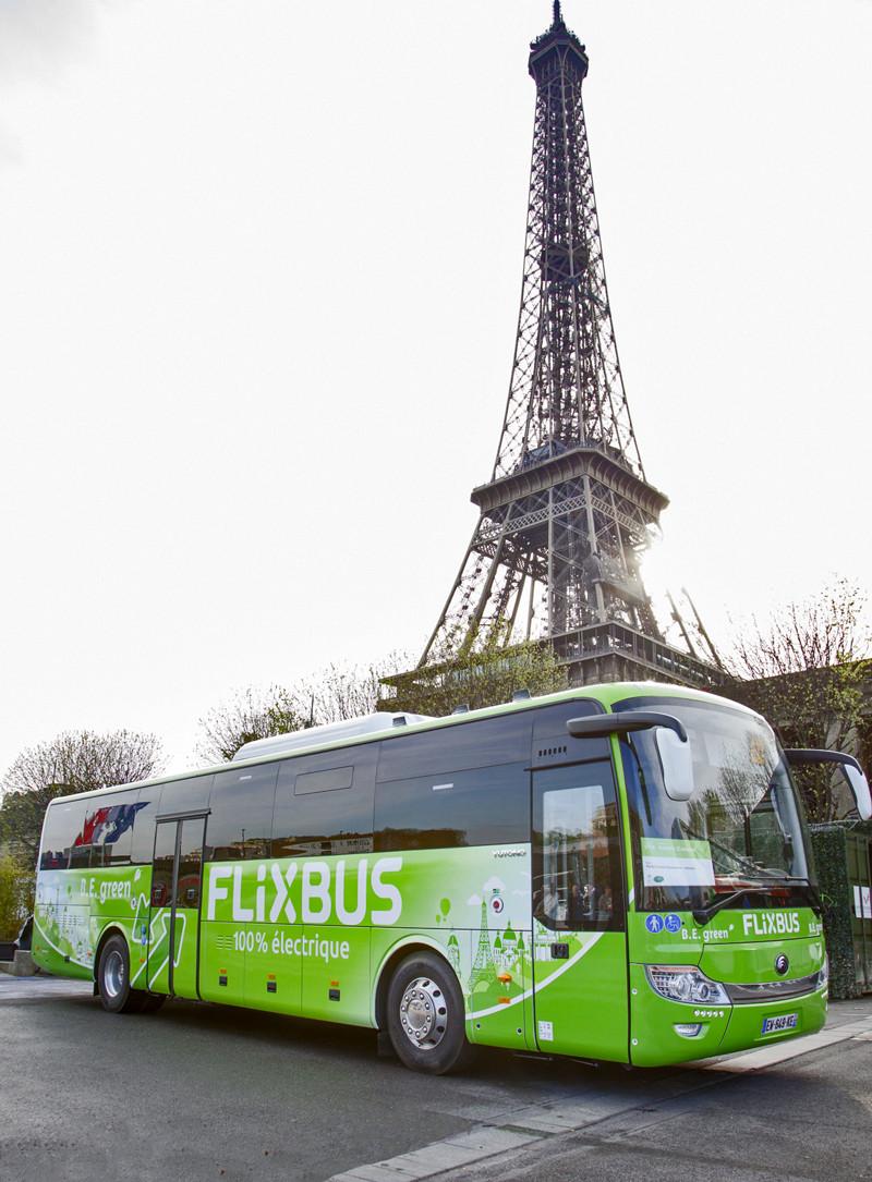 La nouvelle ligne du réseau FlixBus reliera quotidiennement, à partir du 12 avril, Amiens gare SNCF à Paris La Défense via Ermont-Eaubonne.