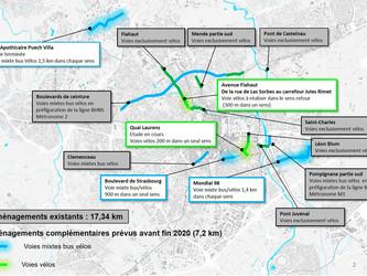 Montpellier : de nouvelles pistes cyclables