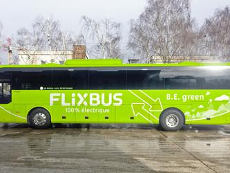 Flixbus : une ligne Paris-Amiens en car électrique !