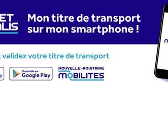 Nouvelle-Aquitaine Mobilités lance le ticket virtuel
