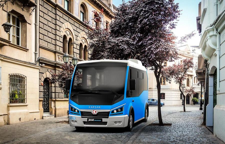 mini bus électrique karsan