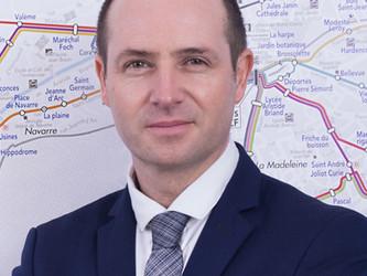 Bruno Percheron, directeur du réseau Transurbain