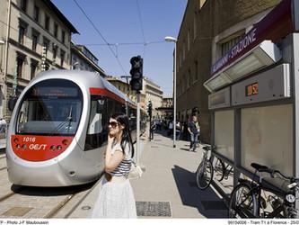 Le tramway de Florence a dix ans