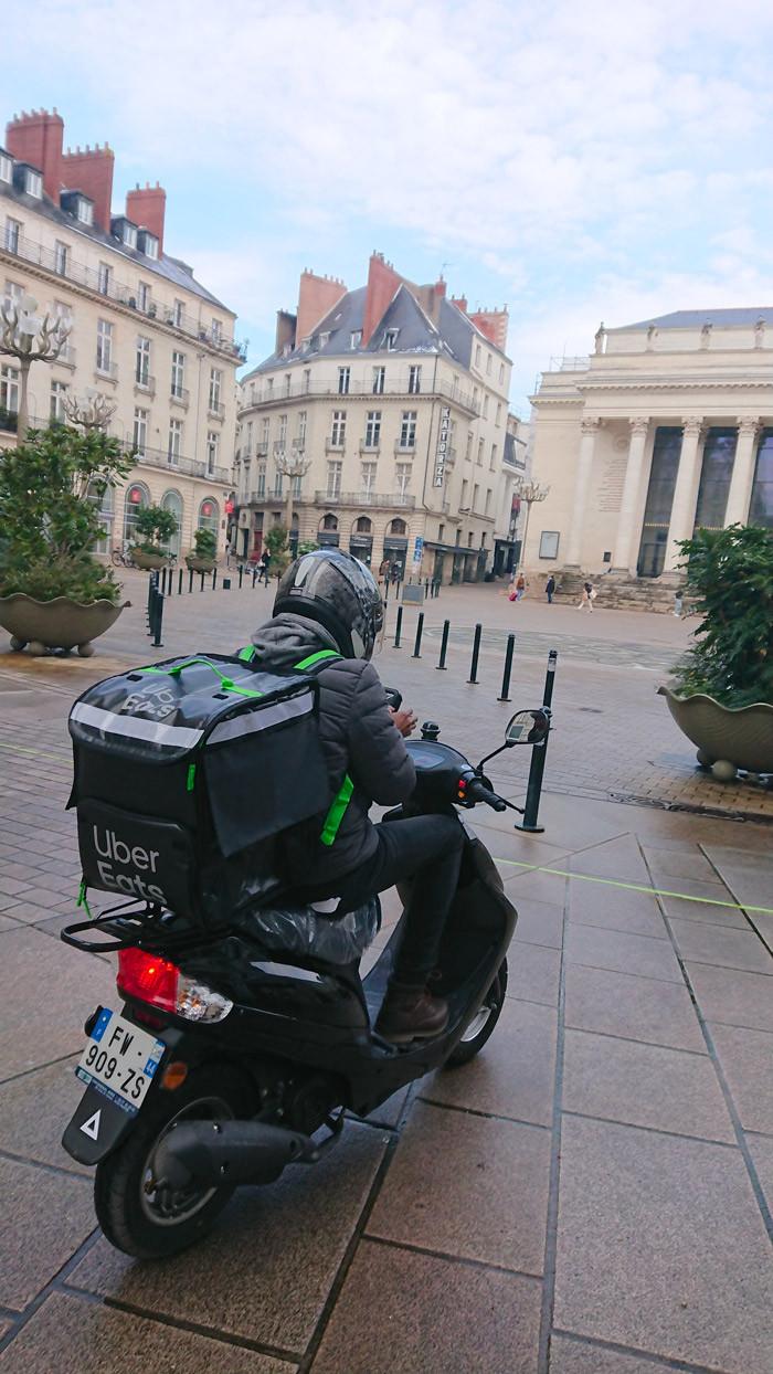scooter Nantes