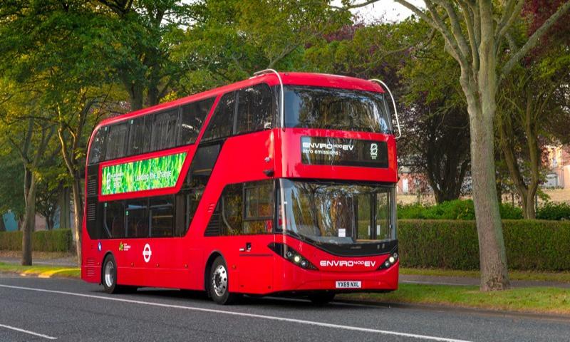 Bus2Grid à Londres