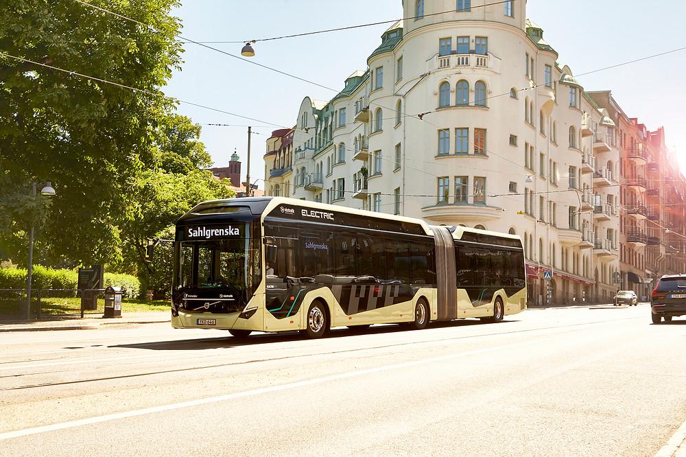 Göteborg : course en tête pour Volvo Buses