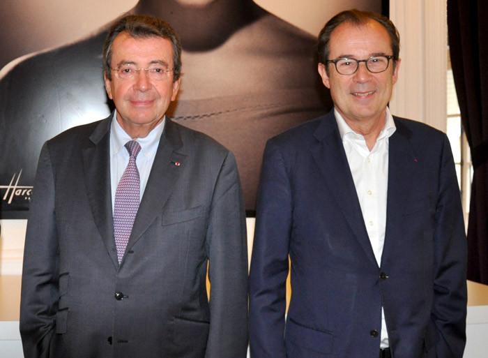 Philippe Faure (à g.), Président d'Atout France et Christian Mantei, Directeur général.