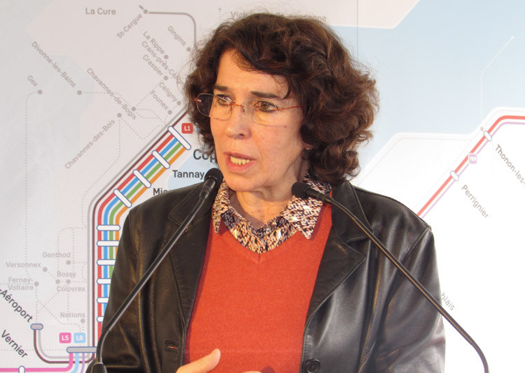 Martine Guibert, vice-présidente déléguée aux Transports