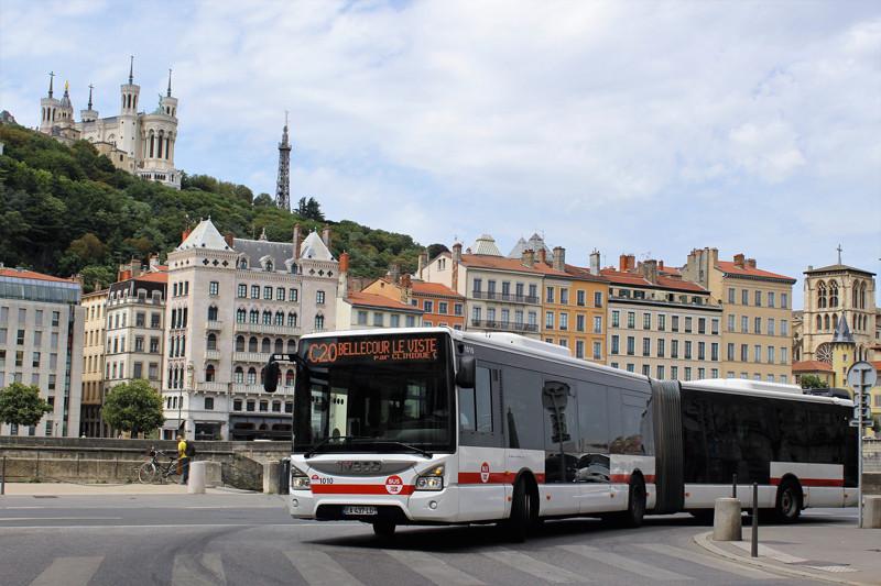 le Sytral commande 86 Urbanway d'Iveco Bus