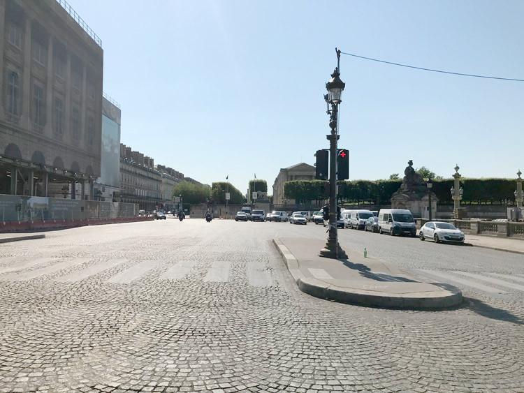 Paris sans circulation