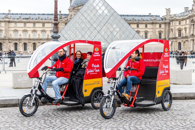 """ParisCityVision lance """" Cyclo """""""