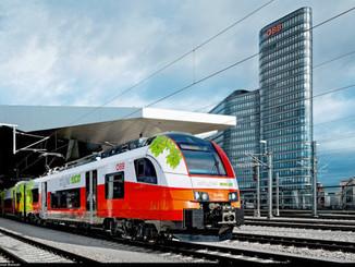 Les Chemins de fer autrichiens testent l'Ecojet Siemens
