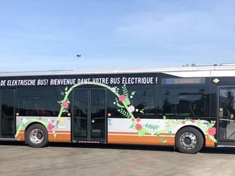 La STIB fait 247 km avec ses Bluebus 12m