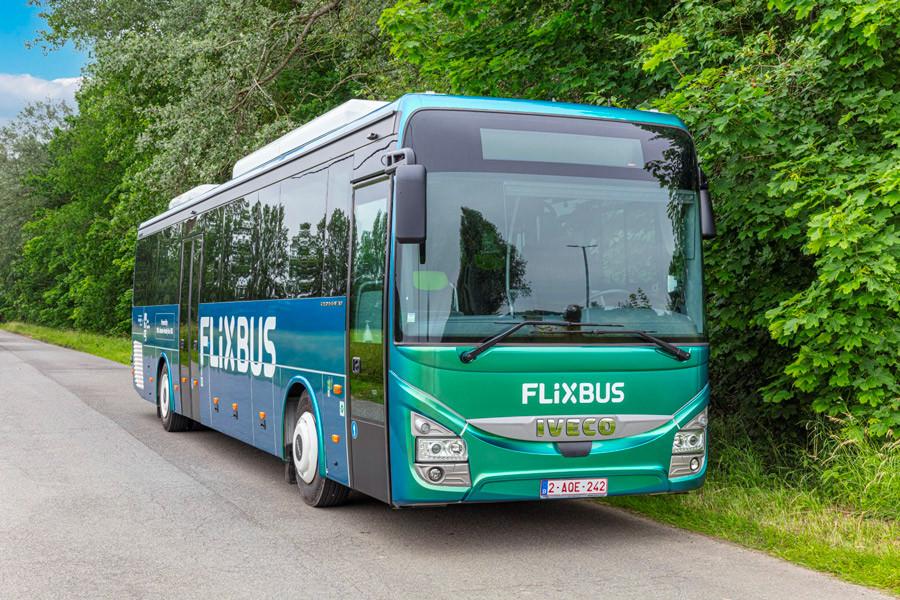 Iveco Crossway GNC flixbus