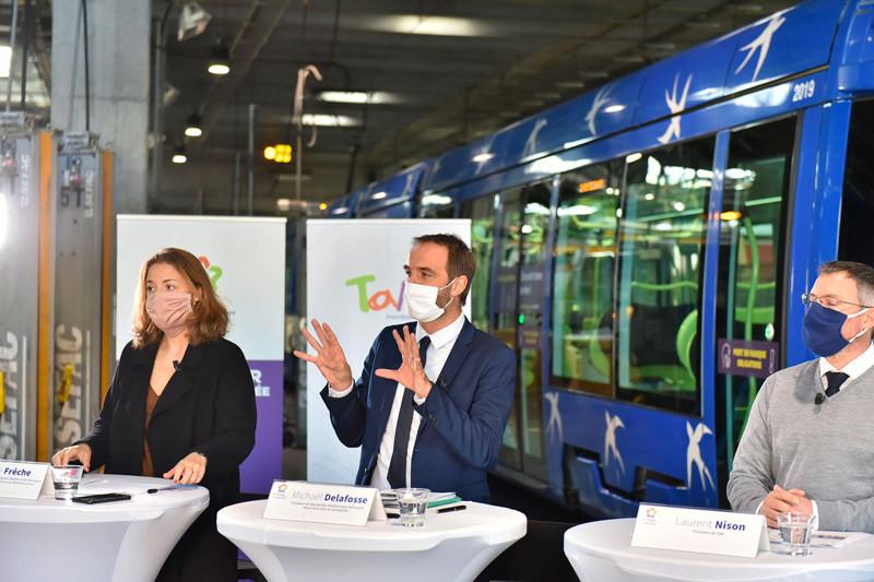 Michaël Delafosse, président de Montpellier Méditerranée Métropole