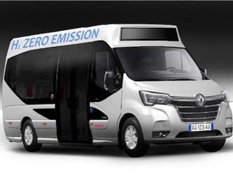 Trouillet lance un minibus à l'hydrogène