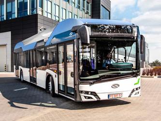 Des bus Solaris à hydrogène testés à Paris