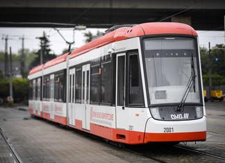 Bombardier livre une première rame Flexity de présérie à Duisbourg