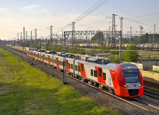 Un train de banlieue sans conducteur en essais à Moscou