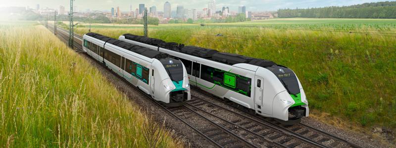 trains Siemens à hydrogène
