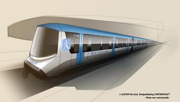 Alstom choisi pour le Grand Paris Express